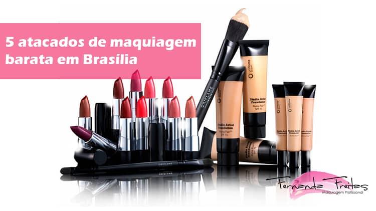 5 melhores atacados de maquiagem barata em brasília