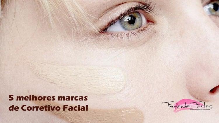 5 melhores marcas de corretivo facial