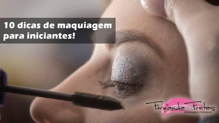 10 dicas de maquiagem para iniciantes